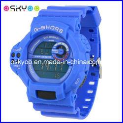 로고 올림픽 게임 3ATM 스포츠 전자 손목 시계를 주문을 받아서 만드십시오