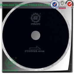 Angle de lame de scie circulaire sur Grinder-Diamond Lame circulaire pour le plastique