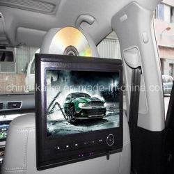 """容量性タッチ画面10.1 """"車のヘッドレストの台紙のタュチ・コントロール携帯用DVDプレイヤー"""