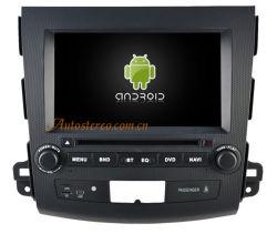 4.4.4 Android планшетный DVD плеер для Misubishi Outlander автомобильной аудиосистемы