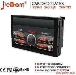 شاشة TFT LCD تعمل باللمس قياس 7 بوصات نظام الملاحة GPS لقرص DVD للسيارة نظام Nissan Qashqai مع Bluetooth+Radio+iPod+Video