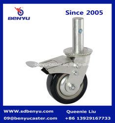 150 mm laminados e travado andaimes Roda pivotante
