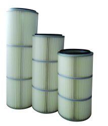 ポリエステルエアー・フィルタのカートリッジPTFE膜によってプリーツをつけられる産業ろ過材