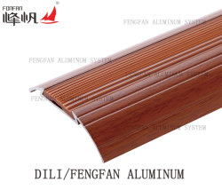 Profil de transition en aluminium avec insert en PVC