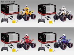 Quatre fonctions R / C Jouets de moto pour enfants (incluent la charge)