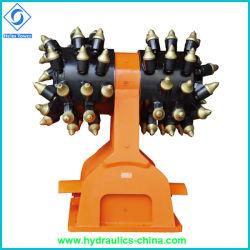 高品質の掘削機の中国人の工場のための油圧ドラム・カッター