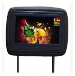 7, 9, 10, 12 polegadas LCD-de-cabeça ecrã vídeo carro player de vídeo