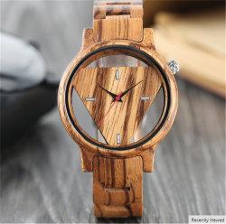 Regarder en bois artisanal de la nature de la bière Cork Dial Roman unisexe déco montre-bracelet cool de l'horloge à quartz de cadeau pour les fans de vin Relogio Masculino -V188
