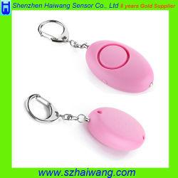 Alarma de auto protección personal portátil con luz LED de alarma de defensa
