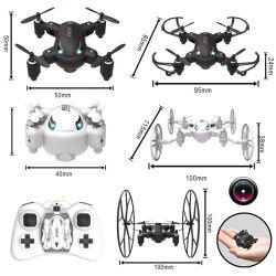 4CH de Controle MiniQuadcopter van Radio Remote (H0410522)