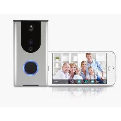 Sonnette visuelle de téléphone de porte du meilleur de vente WiFi imperméable à l'eau électronique de boucle