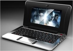 "7 "" MiniAndroid Netbook Notebook Laptop Wm8880 1GB8GB"