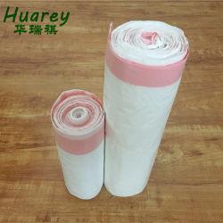 Le cordon de serrage en plastique Le plastique biodégradable Corbeille sac en plastique pour le supermarché