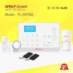 2016 neuer und Hot Wolf-Guard Fire Burglar Alarm System Can Work mit Camera für Home Office Security