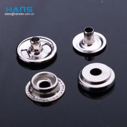 Hans Eco fait sur mesure vêtements s'enclenche en métal pour les vêtements