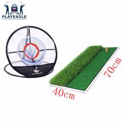 Fungreen Backyard Indoor swing au golf Net Pratiquer le Golf de frapper mat