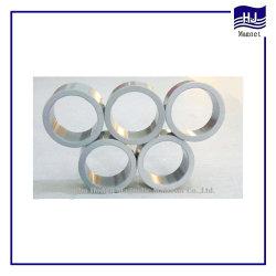 Forte puissance du vérin de l'anneau de l'aimant AlNiCo en Fonte Matériau magnétique à des fins industrielles