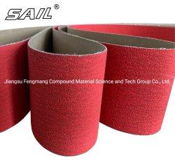 Rullo di ceramica del panno abrasivo del poliestere del Y-Peso del grano per acciaio inossidabile P812