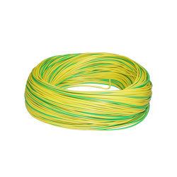 Verde Amarelo Terra cobre nu Fio do cabo de aterramento