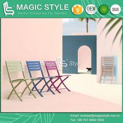 옥외 접는 의자 정원 의자 커피 의자 호텔 등나무 가구를 식사하는 알루미늄 의자 안뜰