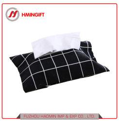 Coton et lin serviette de papier set de serviettes en papier sac sac de papier