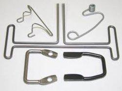 Fabricado na China as braçadeiras da mangueira da Mola do fio abraçadeira de Aço