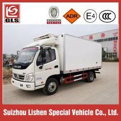 Foton 4X2 15cbm Diepvriezer Gekoelde Vrachtwagen koelde Koude Zaal Van Truck