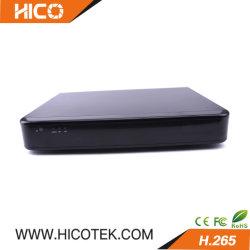 Le LACEL H265 4 canaux en temps réel hybride Full HD 1080p 6 en 1 enregistreur DVR avec 2 disque dur et de la fonction WiFi de l'alarme 3G