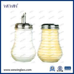 Venda a quente China Wholesales 2peças Produto de uso diário com especiarias chineses utensílios de vidro definido Housewares Galheta, Tempero Jar &Garrafa