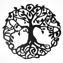 Metalldekoration-Baum der Leben-Ausgangsdekoration-Wand-Kunst-Dekoration
