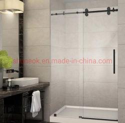 Personalizzato a casa e stanza del divisorio dell'acquazzone di vetro di scivolamento della stanza da bagno dell'hotel