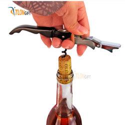 New Custom Metal Staffler من الفولاذ المقاوم للصدأ زجاجة نبيذ
