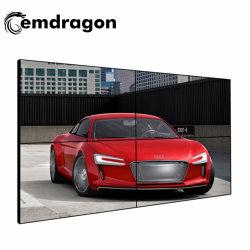 """Торговый центр моды магазин 46"""", 49"""", 55-дюймовый настенный видео 3X3 телевизора на стену LG/панели Samsung 1.8mm 3,5 5.5mm тонкая лицевая панель ЖК-дисплей"""