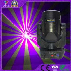 Cabezal movible de la etapa de DJ 4W de luz láser RGB sistema mostrar