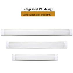 LED lumière intérieure du tube à lattes en utilisant le SMD2835 Bande LED du feu du tube à LED IP40