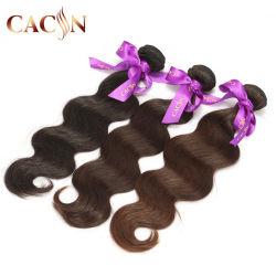 100%Humanhair Virgin индийского волосы тела Weft кривой