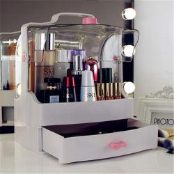 De ruimte Make-up van de Organisator van de Desktop van de Capsule Draagbare Kosmetische