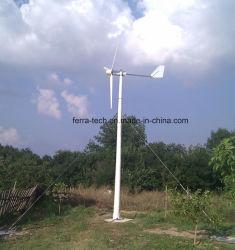 3kw Éolienne horizontale/ éolienne / vent générateur entraîné