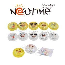 NTT17920B 2 Farben-Kühlraum-Magnet Emoji Spielzeug mit komprimierter Süßigkeit