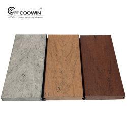 L'Extérieur en PVC de couleur mixte Engineered terrasse WPC Decking Flooring 150x25mm