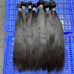 Angelbella 베스트셀러 승진 여자 머리를 위한 100%년 Virgin 브라질 Remy 사람의 모발 본래 부피