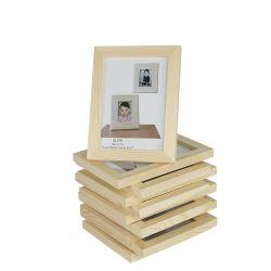 주문 인쇄 수지 그림 나무로 되는 사진 프레임
