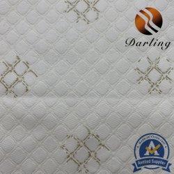 2,5 m de melocotón de poliéster de color blanco con cuadros escoceses para textil hogar ropa de cama