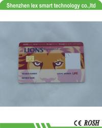 Herdrukte IC van het Contact van de Kaart van ISO7816 IC Slimme Plastic Kaart, de Afdrukkende IC van het Contact Sle5542 Fabrikant van de Kaart
