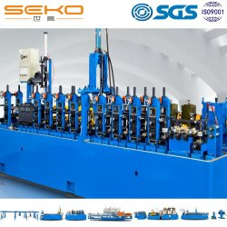 Menor consumo de soldagem de aço inoxidável linha de máquina de tubos para tubos de petroquímica