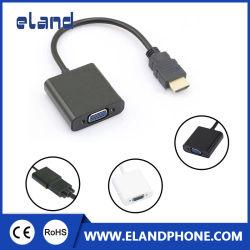 HDMI إلى VGA باستخدام كبل الصوت