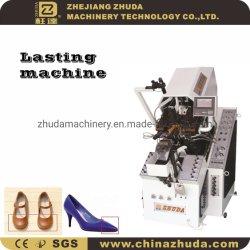 Hidráulico Automático de 9 pinzas Toe zapatos duraderos que hace la máquina