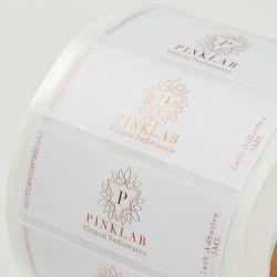 Embalagem cosméticos prova química adesivo auto-adesivo OEM a impressão de etiquetas