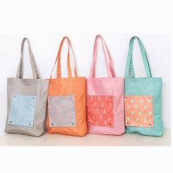 Новые поступления корейском стиле водонепроницаемый чехол для мультфильмов складные Pocket животных печать продуктовых магазинов женская сумка женщин