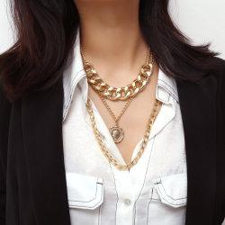 Più nuova collana della lega di disegno del migliore venditore 2019 con monili Chain